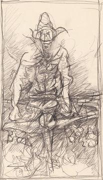 Abstrakt, Surreal, Expressionismus, Zeichnungen