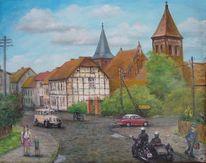 Uckermark, Strasburg, Geschichte, Malerei