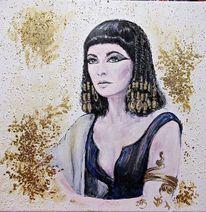 Kleopatra, Malerei,