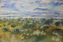 Landschaftsmalerei, Afrika, Landschaft, Meisterwerk