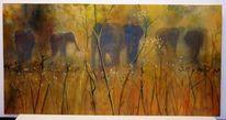 Masai mara, Landschaft, Landschaftsmalerei, Elefant