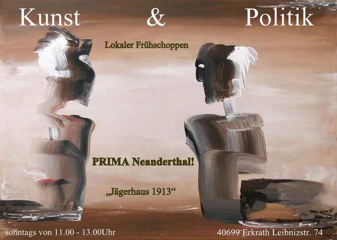 Erkrath, Politik, Wahl, Jägerhaus, Prima neandrthal, Frühschoppen