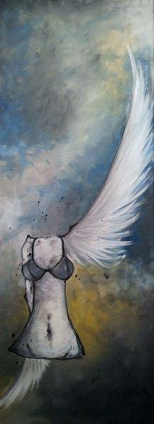 Akt, Flügelschlag, Abnorm, Puppe, Fabelwe, Weiß