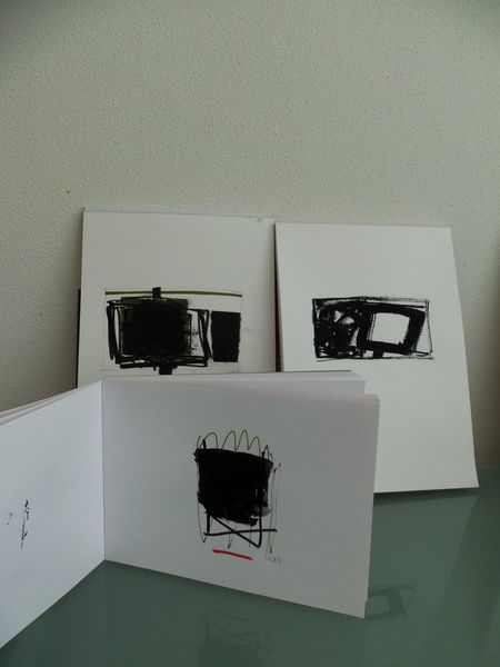 Schwarz, Weiß, Miniatur, Malerei