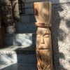 Handarbeit, Kettensäge, Schnitzkunst, Holz