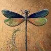 Insekten, Acrylmalerei, Tiere, Flügel