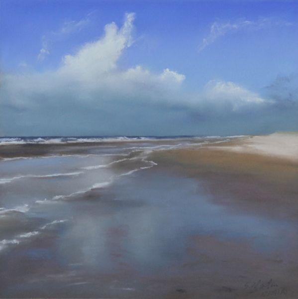 Wattenmeer, Weite, Spiegelung, Strand, Meer, Wetter