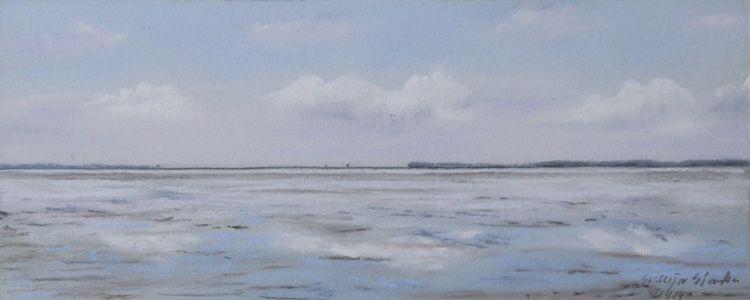 Ostfriesland, Himmel, Wattenmeer, Wetter, Weite, Watt