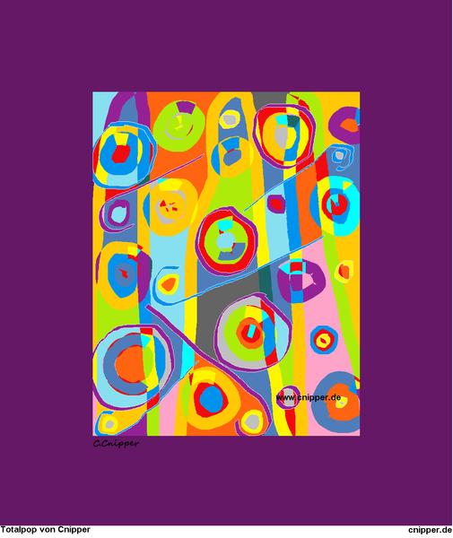 Blau, Totalpop, Farben, Design, Bunt, Mischtechnik