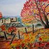 Herbst, Bunt, Aquarell