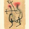 Abstrakt, Aquarellmalerei, Figural, Zeichnung