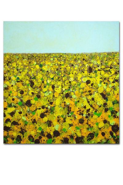 Landschaft, Malerei, 2014