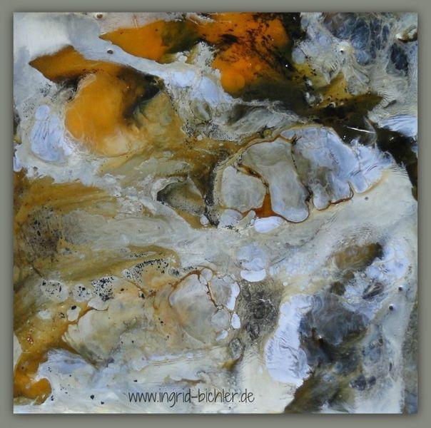 Bienenwachs, Ocker, Pigmente, Chaos, Malerei, Enkaustik
