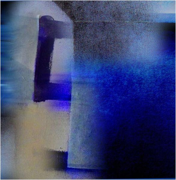 Digitale kunst, Blau, Griff