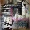 Stillleben, Kubismus, Gitarre, Digitale kunst