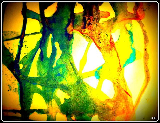 Gelb, Grünö, Malaria, Malerei