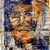Menschen, Portrait, Mann, Collage
