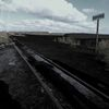 Gleis, Bahnsteig, Moor, Einsamkeit