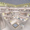 Stadtbibliothek stuttgart, Eun young yi, Architektur, Fotografie
