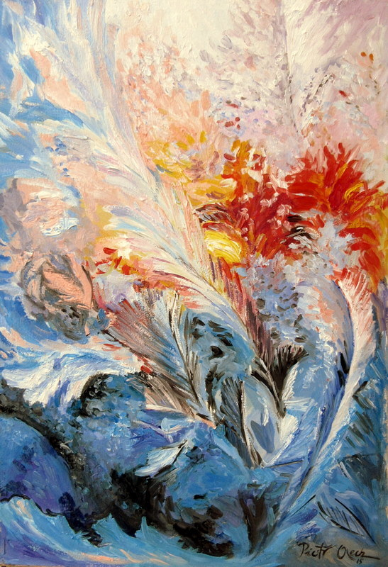 Bild: Eisblumen, Fenster, Frost, Winter von DUNEE bei KunstNet: http://kunstnet.de/werk/407886-eisblumen