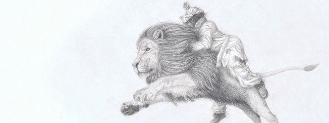 Irina wall, Löwe, Zauberer von oz, Vogelscheuche, Tiere, Tierzeichnung