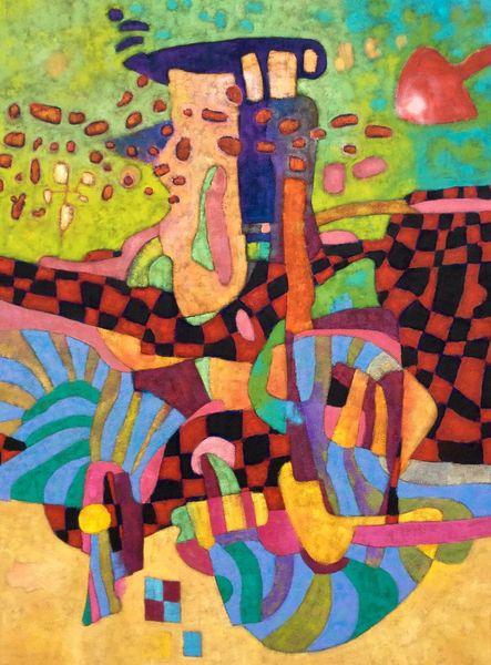 Expressionismus, Panel, Abstrakt, Modern, Malerei