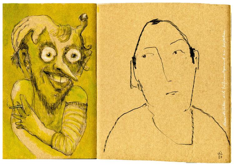 Fehler, Tiefenentspannt, Seltsame zufälle, Zeichnungen,
