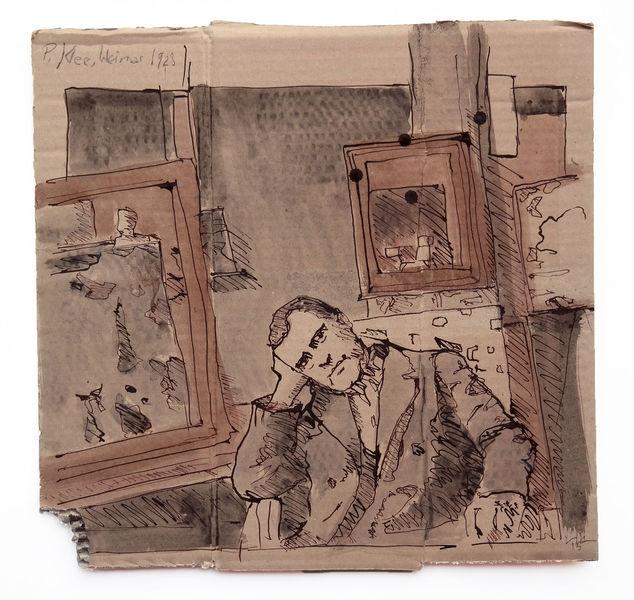 Atelier, Portrait, Paul klee, Zeichnungen, Klee,