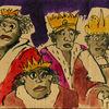 Könige, Weisen, Krone, Mannschaft