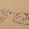 Nacht, Schlaf, Wanderung, Zeichnungen