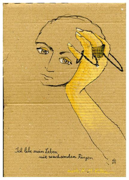 Kalauer, Rilke, Ring, Zeichnungen