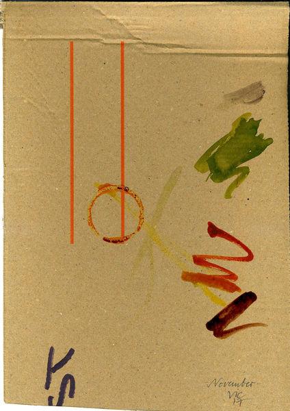 Stimmung, Weihnachten, Tannenbaum, Malerei