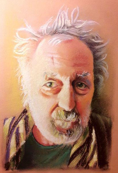 Portrait, Licht und schatten, Gesicht, Malerei