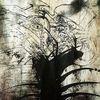 Acrylmalerei, Spontan, Zeichnung, Abstrakt