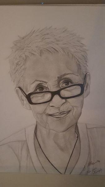 Portraitzeichnung, Zeichnung, Bleistiftzeichnung, Zeichnungen, Freundin, Portrait