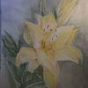 Aquarellmalerei, Blumen, Lilie, Aquarell