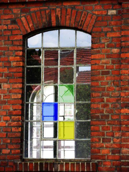 Fenster, Industrieruine, Fotografie, Durchblick