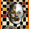 Dreieck, Mosaik, Cyborg, Schachbrett