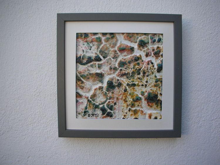 Bunt, Bruchstrukturpaste kn 17, Kunsthandwerk