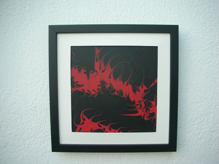 Ramen, Rot schwarz, Kunsthandwerk