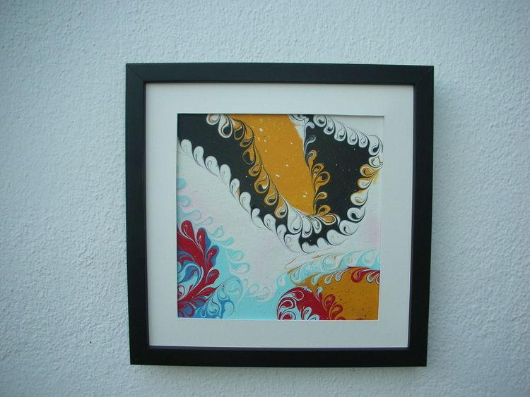Weiß, Gelb, Rot schwarz, Kunsthandwerk,