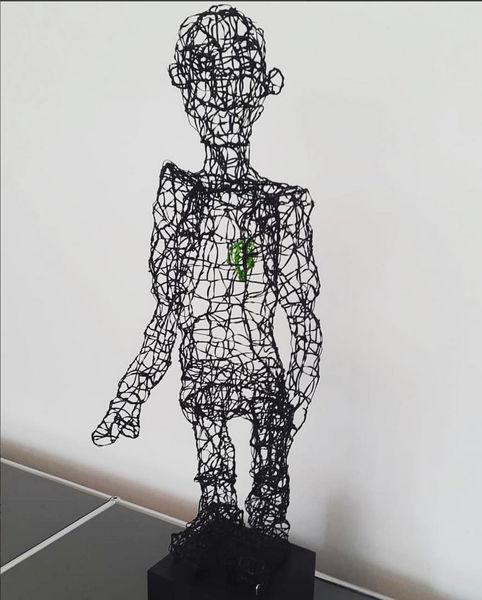 Skulptur, Menschen, Herz, Plastik