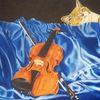 Violine, Instrument, Lasurtechnik, Stillleben