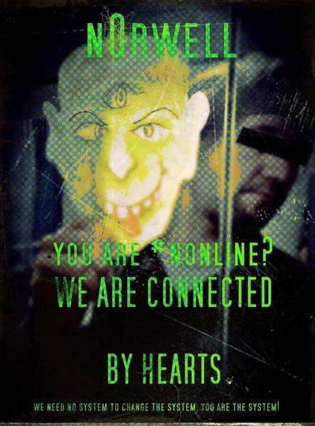 Orwell, Digitale kunst, Befinden,
