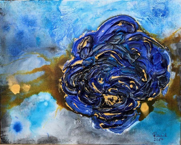 Rose, Abstrakt, Malerei,
