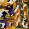 Abstrakt, Farben, Spachteltechnik, Malerei