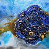 Abstrakt, Rose, Malerei,