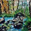 Wald, Natur, Landschaft, Sommer