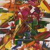 Farben, Abstrakt, Spachtel, Struktur