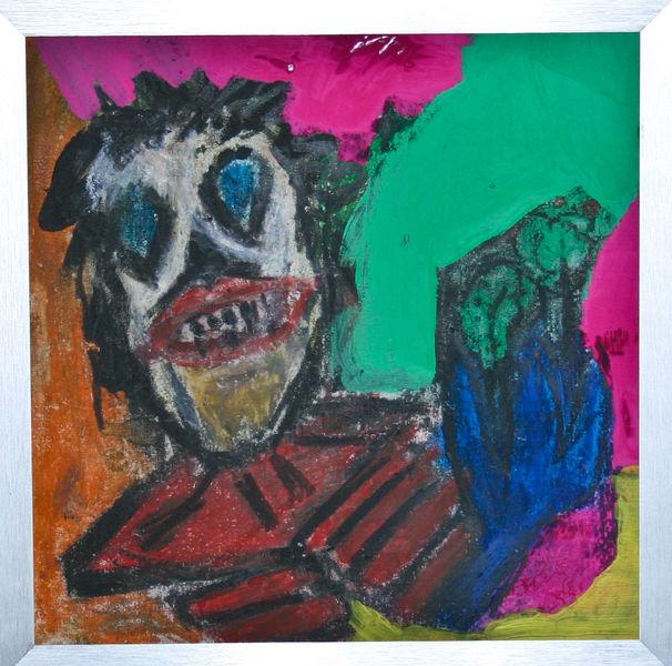 Unterhaltung, Gacy, Liebe, Fingerfarbe wachsmalstifte, Malerei,